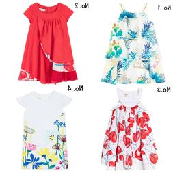 Willsa Girls Dresses Cute Toddler Kids Baby Casual Ruffled Solid Clothes Princess Party Strap Dress