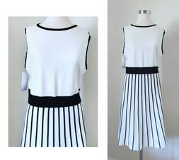 STITCH FIX Kimana Sweater White Black Fit Fare Party Party W