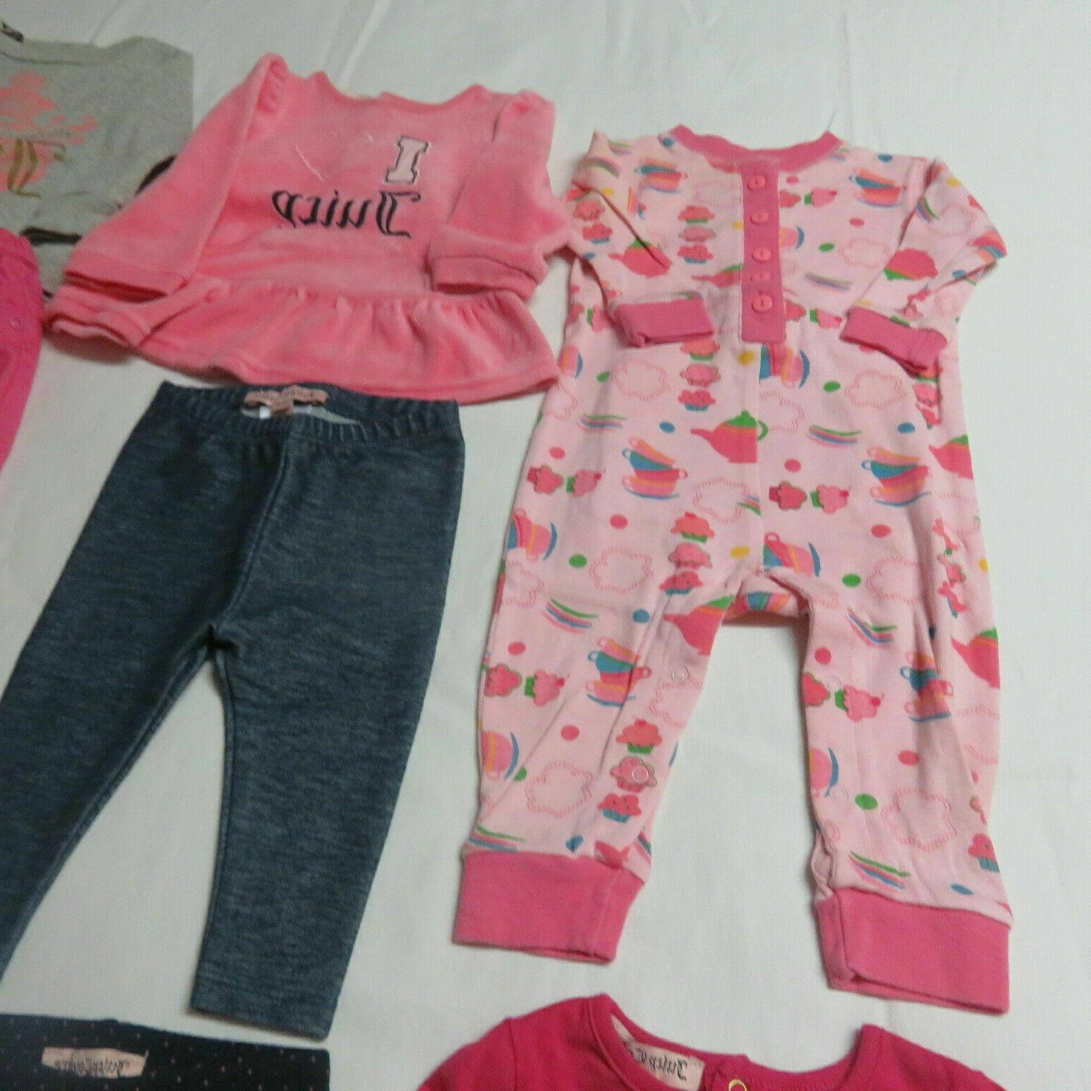 13 - Juicy Couture, etc Grouping 3-6