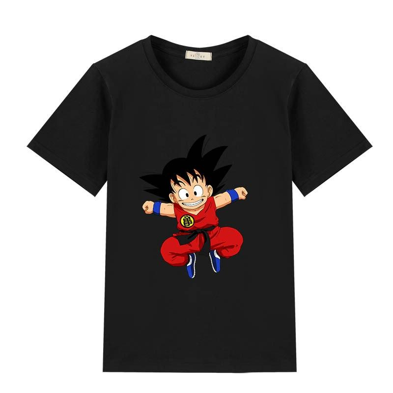 2019 summer children cartoon 3d goku print