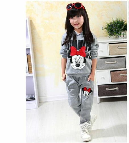 2PCS Minnie Mouse Tops Pants Set