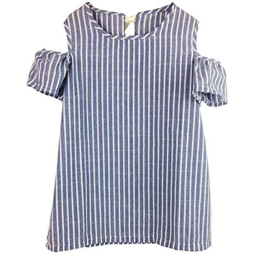 Jastore Baby Girl Clothes Summer Dress Cotton Cute Striped P