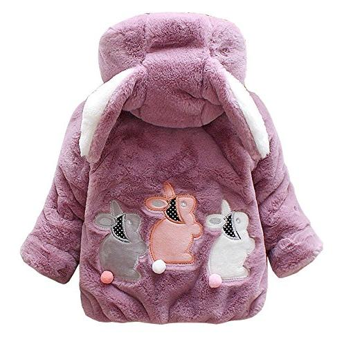M RACLE Baby Girls' Kids Toddler Winter Warm Outerwear Snows