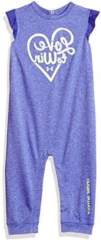 Under Armour Baby Girls Love to Win Coverall, Constellation