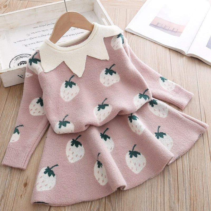 baby <font><b>Clothing</b></font> cotton 2 outfits Shirt Sweater suit knitted