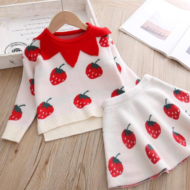 baby <font><b>Clothing</b></font> set Kids 2 pcs Cloths outfits Sweater suit for