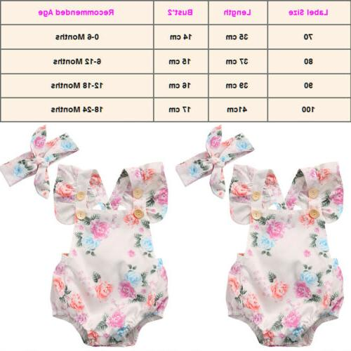Baby Romper Newborn Infant Bodysuit Outfit