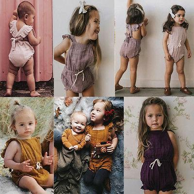 Baby Romper Bodysuit Summer Outfits