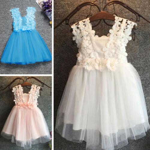 Baby Flower Lace Party Princess