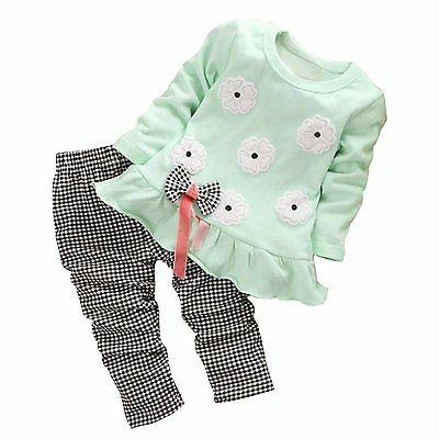baby toddler girl clothing adorable outfit 2pcs
