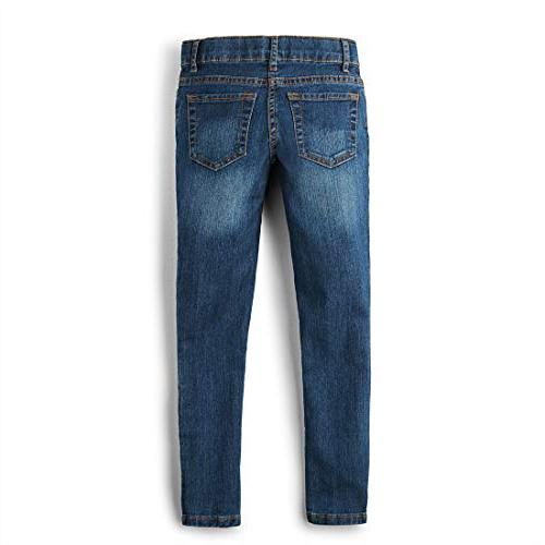 The Children's Place Girls' Super Skinny Victory Blue, 10