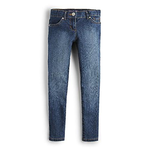 The Children's Place Girls' Super Skinny Jean, Victory Blue, 10
