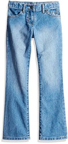 The Children's Place Girls Size Bootcut Jeans, Medium Worn S