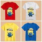 Boys Girls T-shirt Minions Despicable Me Children's Clothing