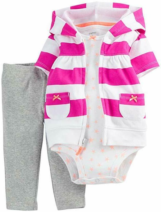 Carter's Floral Bodysuit Jeggings - Baby Girls newborn-24m