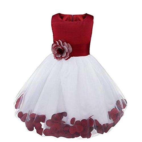 flower dress toddler princess party