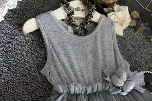 Flower Girl Baby Princess Party Pageant Wedding ZG