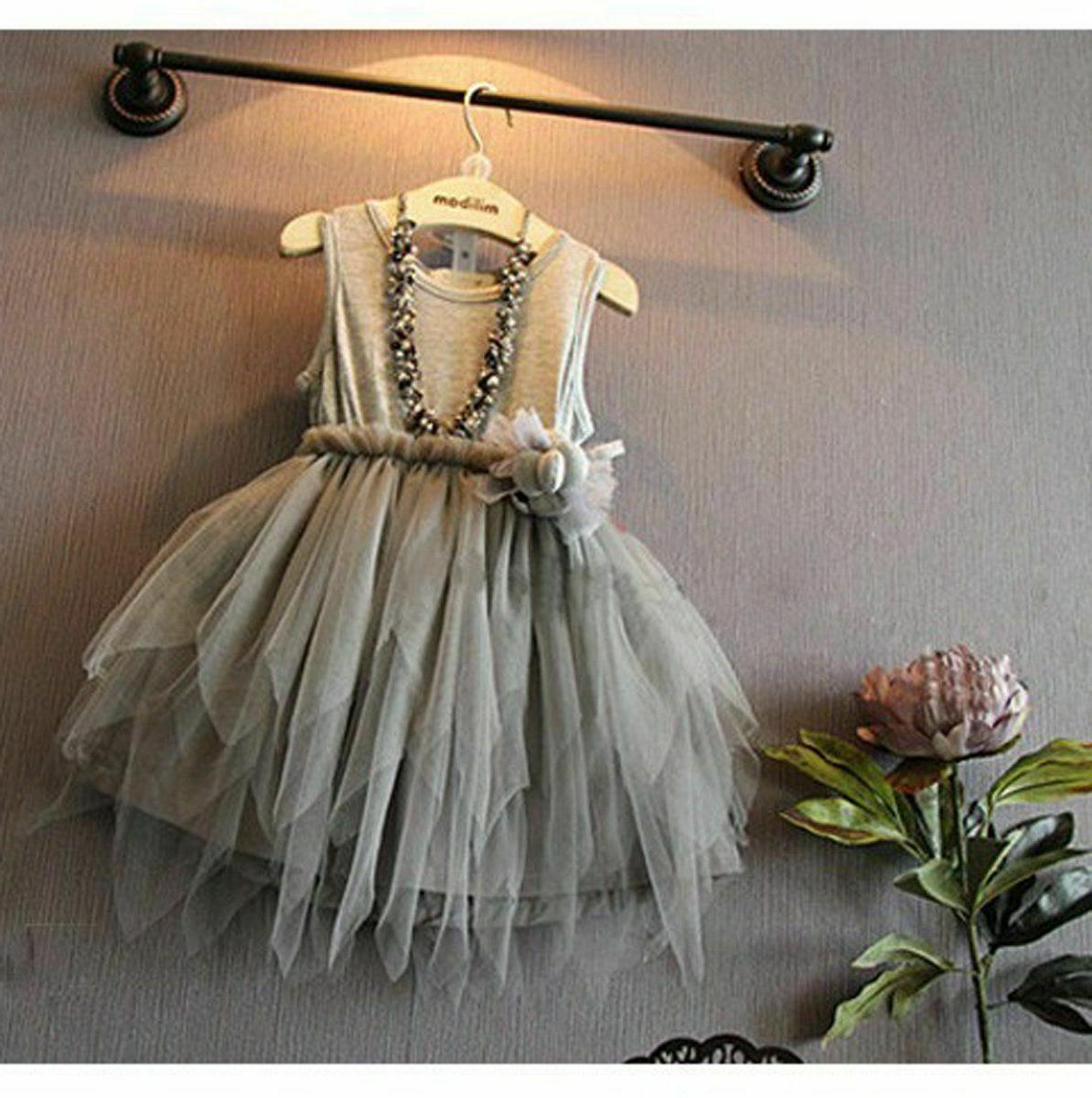 Flower Girl Kid Toddler Baby Princess Party Pageant Wedding