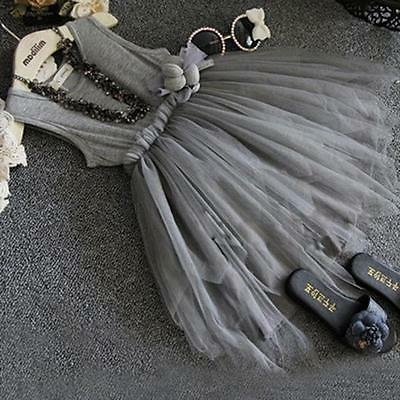 Flower Baby Party Pageant Wedding Tutu Dresses