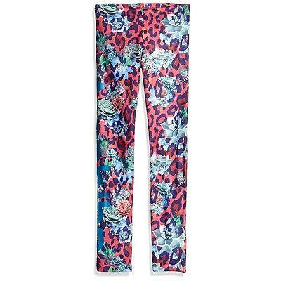 girl originals s rose print leggings multi