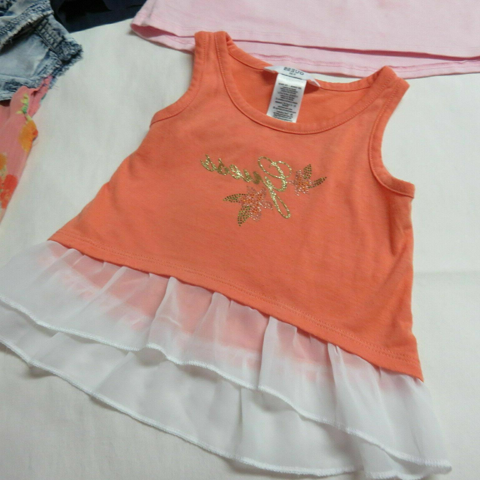 Girls 10 Pce Guess & Grouping Size 2T