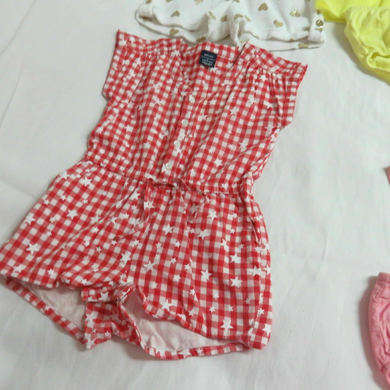 Girls 10 Pce Clothing Lot Juicy Guess & Gap Grouping Size