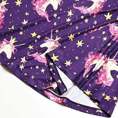 Girls&Doll Unicorn Clothes Navy Unicorn
