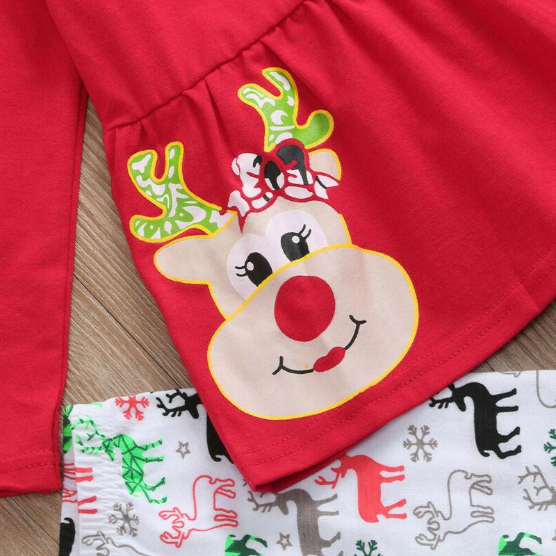 Girls Baby Deer Outfits Clothing