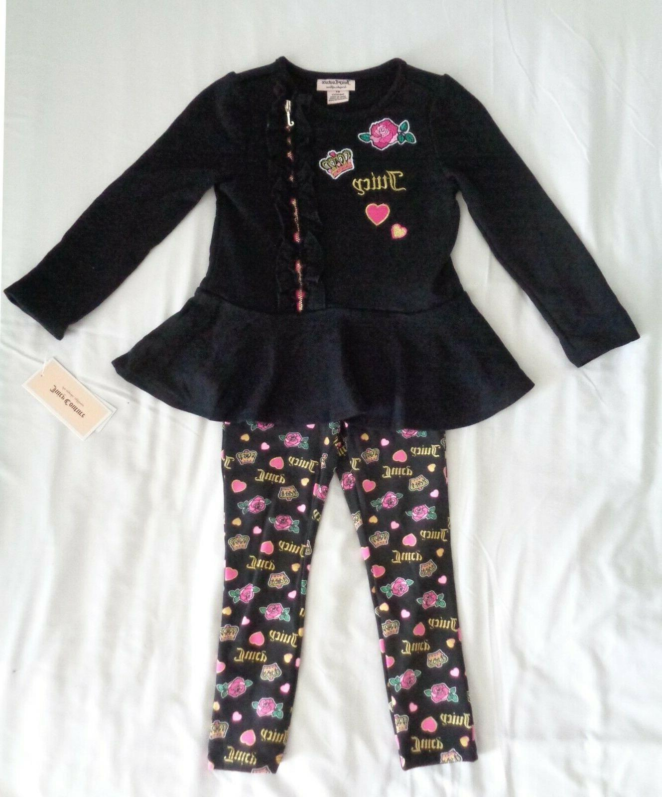 Juicy Couture Girls Top Set 4, 6 NWT