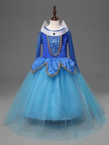 Girls Princess Dress Costume Party Dresses