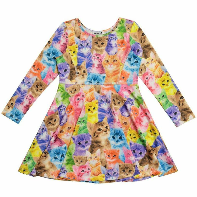 Jxstar Desss Kid Cat Unicorn Floral