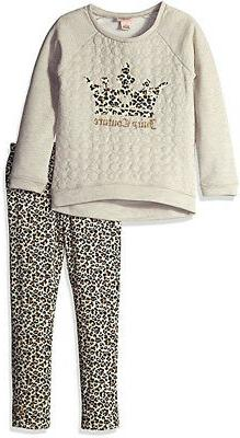 girls oatmeal french terry top 2pc legging