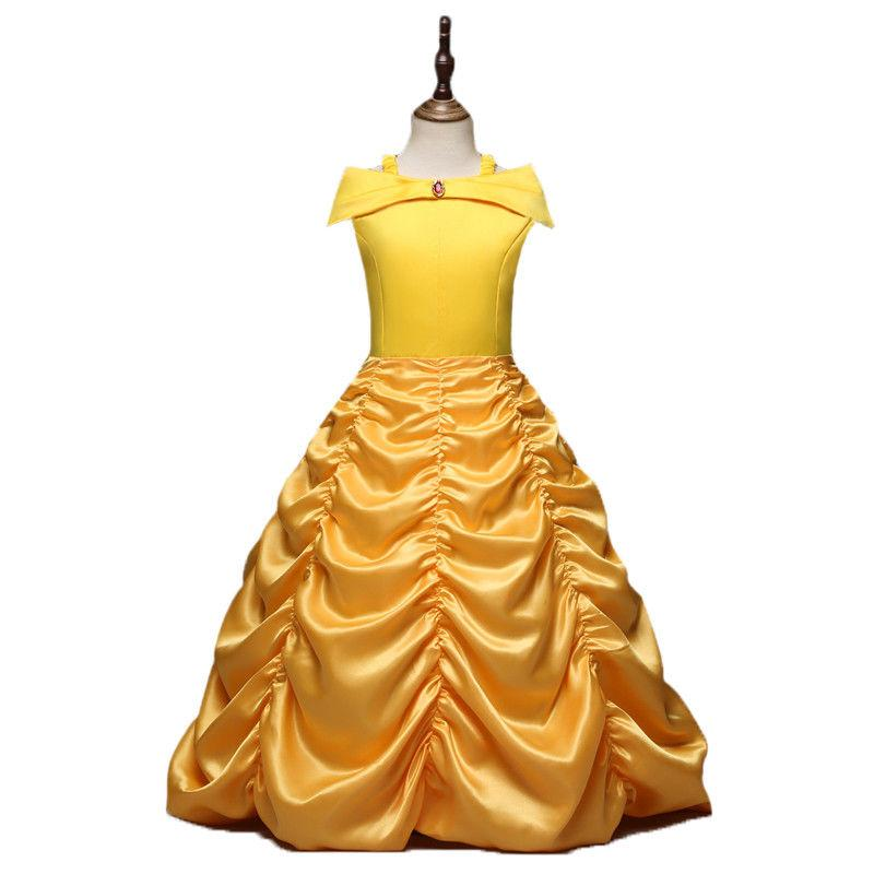 Girls Dress Beauty and the Cosplay Costume Kids US