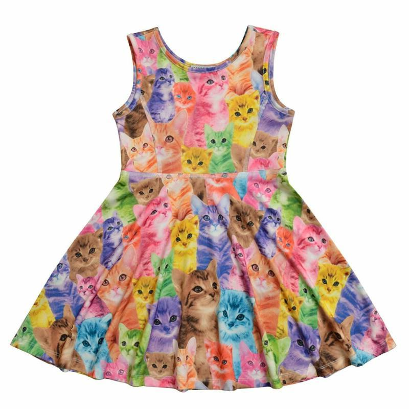 Jxstar Girls Sleeveless Casual/Party 3-13Years