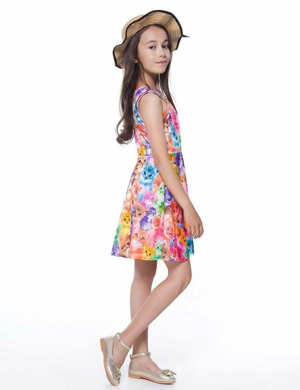 Jxstar Girls Dress Sleeveless