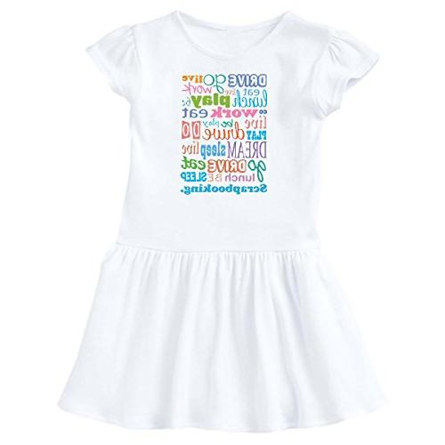 inktastic - Live Dream Scarp Booking Infant Dress 12 Months