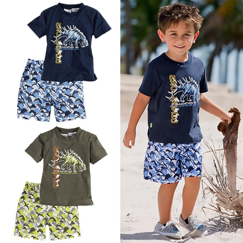 Kids Boys Summer Outfits + Set