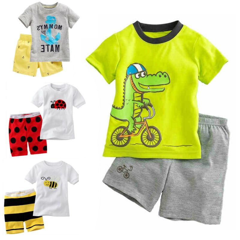 Kids Summer Outfits Clothes + Nightwear