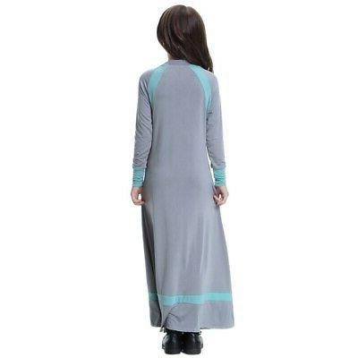 Muslim Girls Maxi Holiday Gown