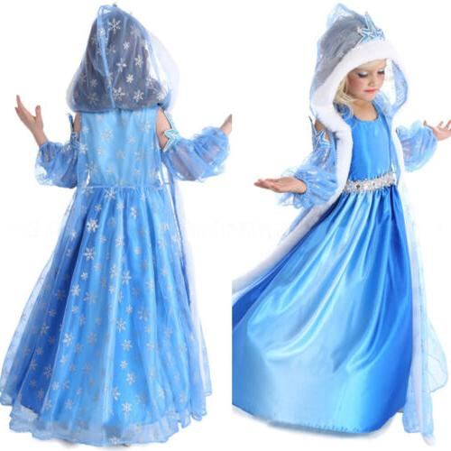 Princess Dress Kids Costume Party