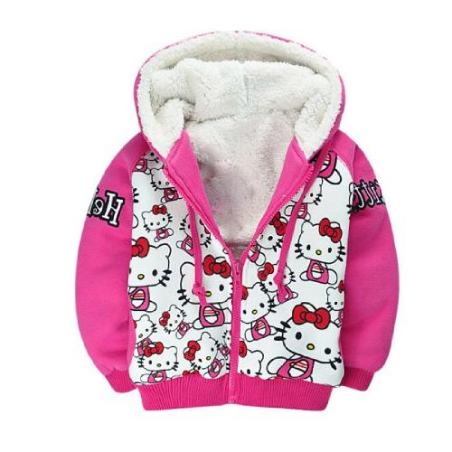 Ancia Baby Girls Toddlers Jean Jacket Fall Coat for Kids