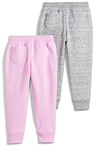 Spotted 2-Pack Jogger Grey/Pink,