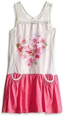 Kensie Little Girls Tank Dress Size 4 5/6 6X $32