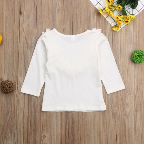 Long T-Shirt Baby Girl Clothes Kid