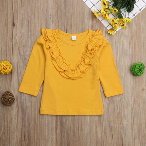 Long T-Shirt Blouse Baby Clothes Kid
