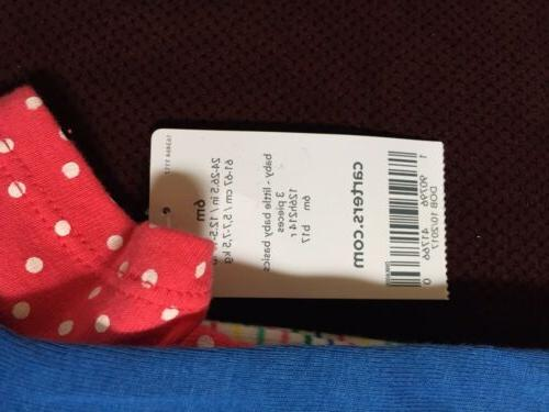 NEW Carters girl 6 Clothing Set
