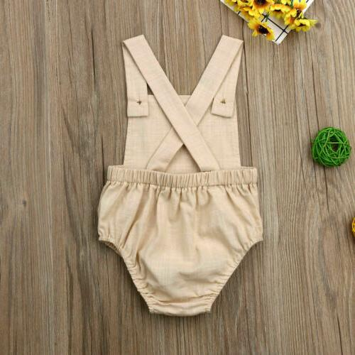 Newborn Boy Romper Outfit Set Clothes