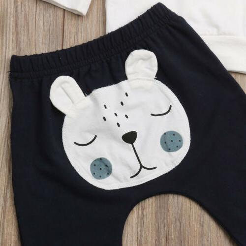 Newborn Baby Sweater Pants Clothes Set