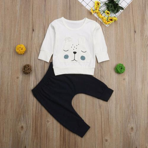 Newborn Baby 3D Bear Sweater Outfits Clothes