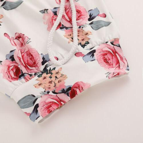 Newborn Baby Girl Clothes Tracksuit Toddler